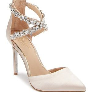 Jewel Badgley Mischka Wedding Shoes